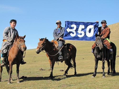 350 on horseback