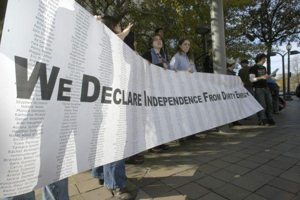activism banner