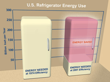 Refrigerator Energy Use in California