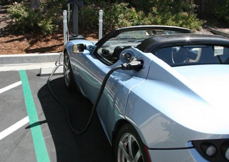 SolarCity EV charging station
