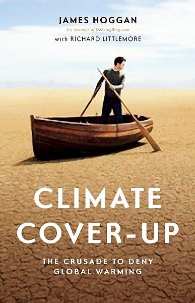 Climate Cover-Up book cover.