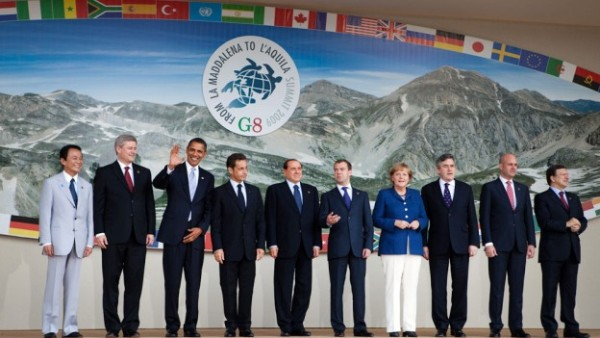 G8 leaders