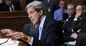 Kerry testifying.