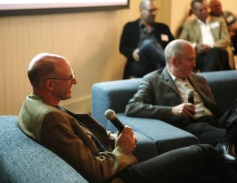 Michael Pollan and Tom Philpott