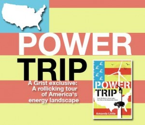 """Power Trip"" book cover and design"