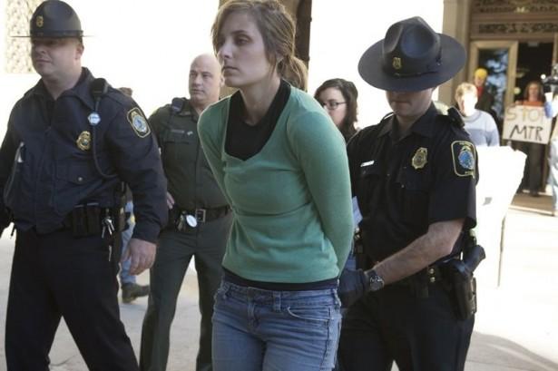 Miranda Miller, arrested at W.Va. Capitol