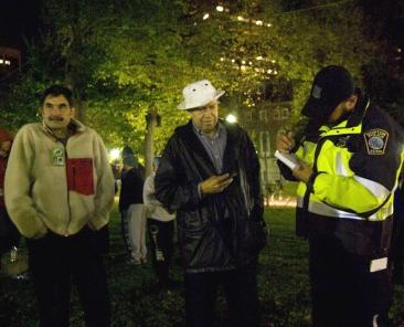 ward hansen and cops