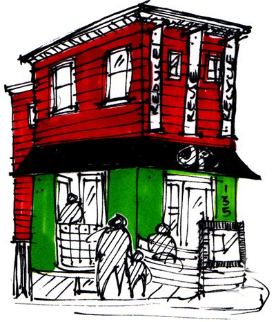 JP green house logo