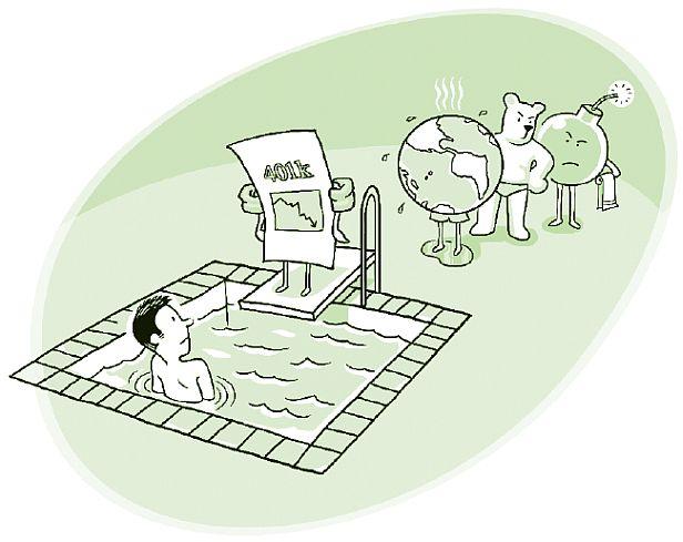 finite pool of worry