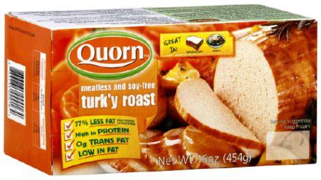 Quorn Turk'y Roast.