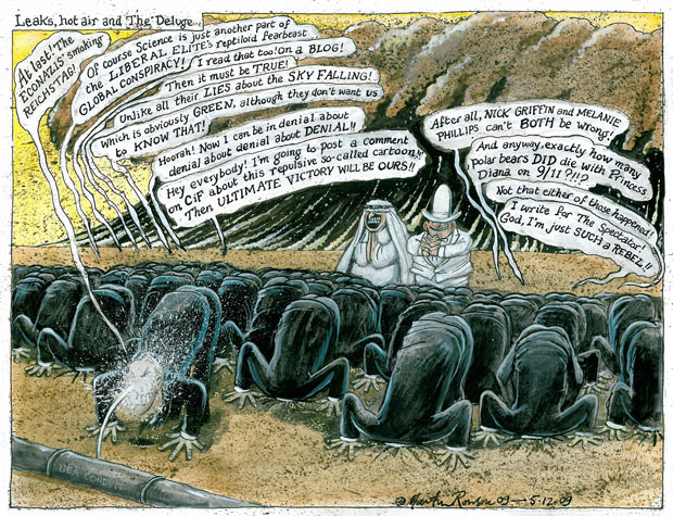 05.12.09: Martin Rowson on the climate change sceptics
