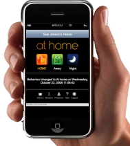 AlertMe iPhone app