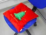 usb christmas cushion