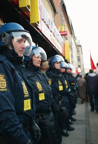 Police in Copenhagen