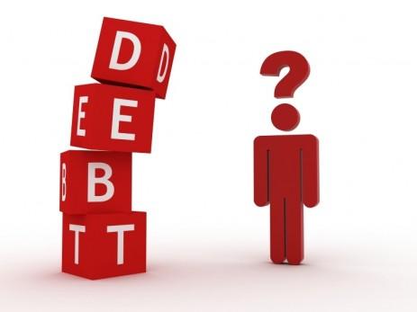 """debt"" image"