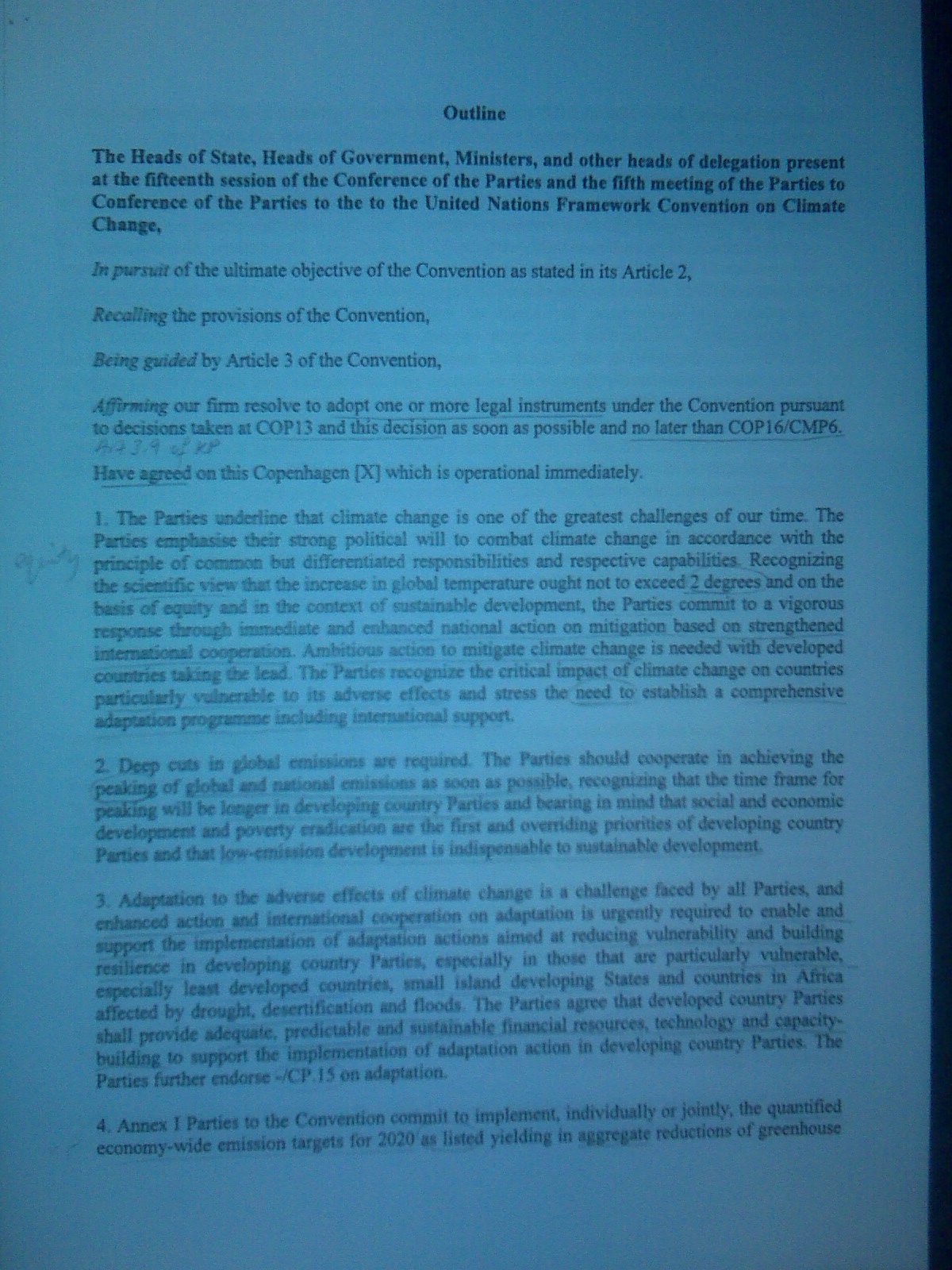 page one of draft deal