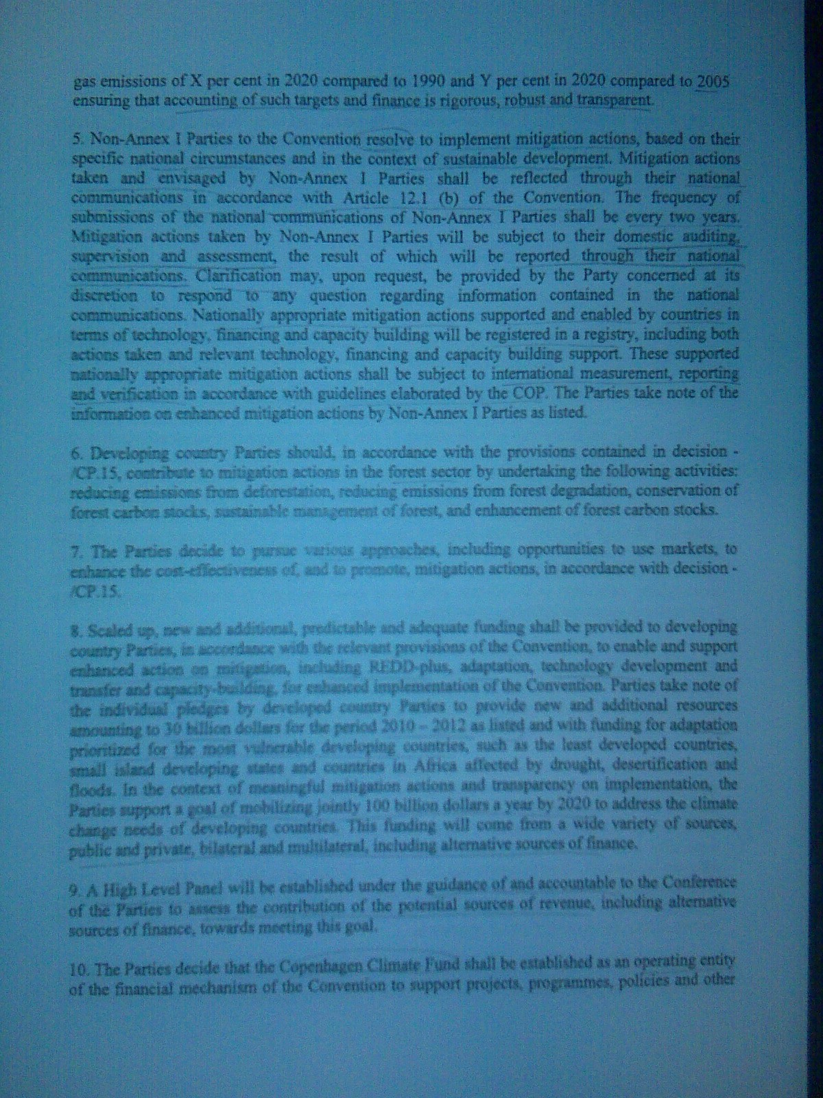page two of draft deal