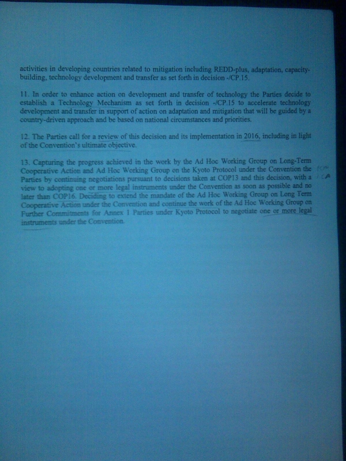 page three of draft deal