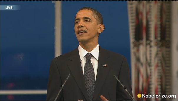 Obama Nobel Prize speech