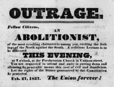 abolition handbill