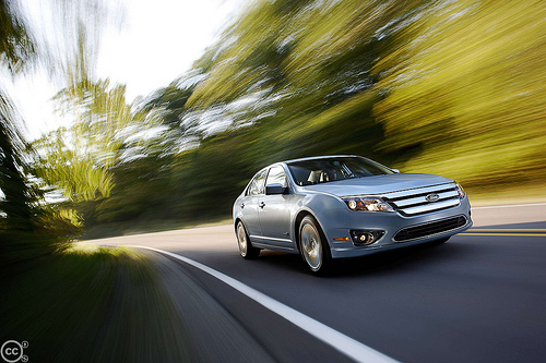 The Ford Fusion Hybrid.