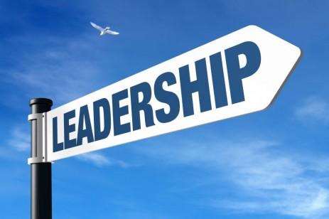 """Leadership"" sign"