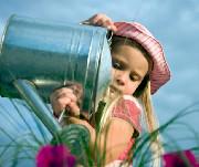 girl gardener