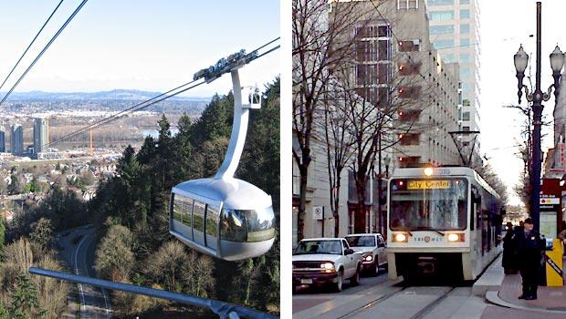 Portland Oregon transit