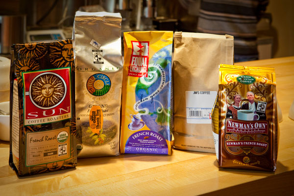 Five organic coffee brands
