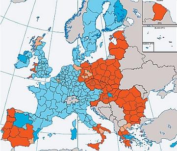 E.U. convergence zones