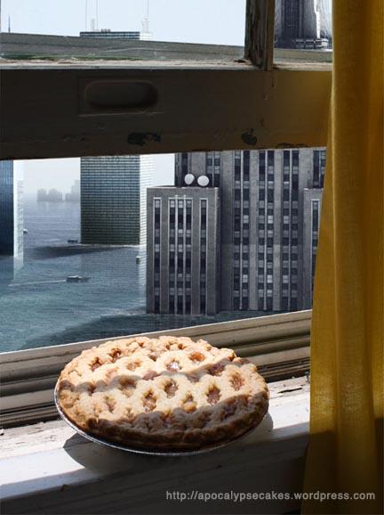 global warming hot apple pie