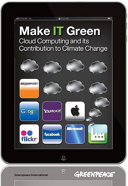 Greenpeace report cover