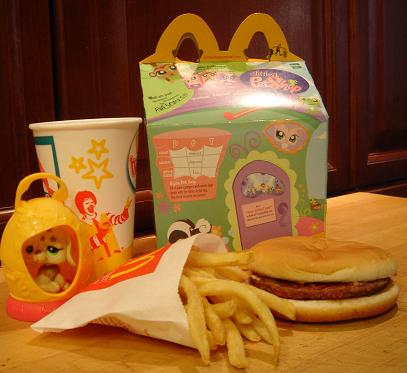 A brand-new Happy Meal