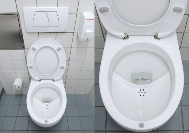 NoMix Toilet.