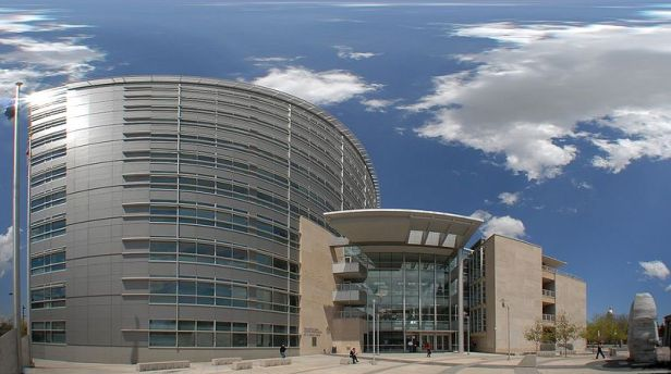 The Webb Municipal building.