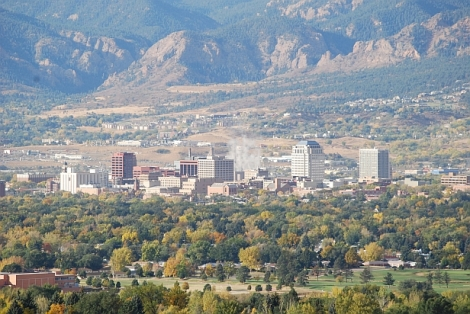 Here is Colorado Springs, a city in Colorado, because I wanted to add a picture