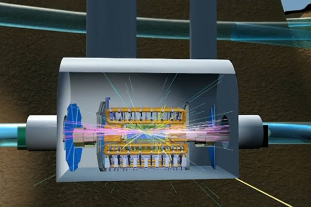 Hadron illustration