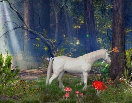 A unicorn.