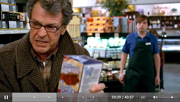 Fringe screenshot of Walter