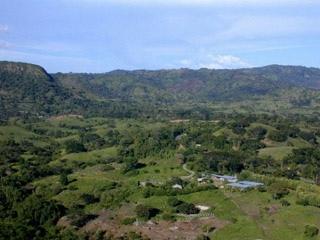 Proposed site of Pacific Rim's El Dorado mine.