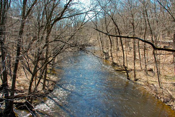 The Passaic River.