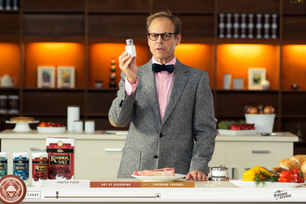 Alton Brown and salt