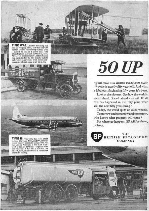 BP ad: 50 years