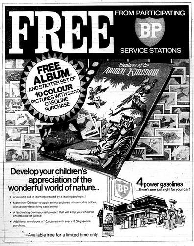 BP ad: Nature coloring book