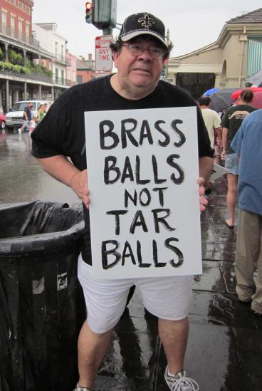 Protester.