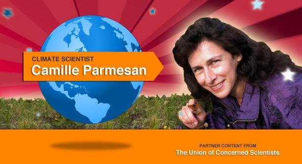 Camille Parmesan.