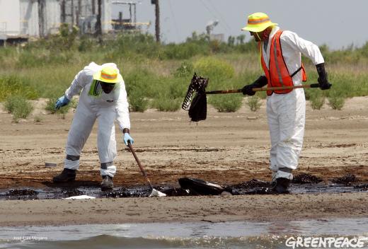 Gulf clean up