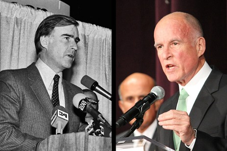 Jerry Brown, in '82 and '10