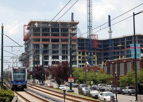 Construction near Lynx line