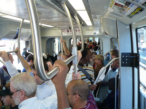 Crowded Lynx train